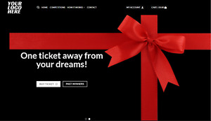 Competition Raffle Online Website Business With FREE Domain & Hosting