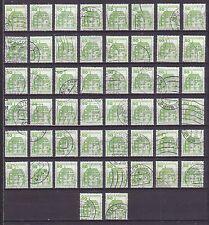 50 x Mi 1038 , Burgen und Schlösser : Inzlingen