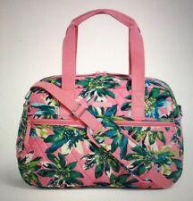 Vera Bradley Compact Traveler Bag Tropical Paradise Pattern Carry On Shoulder