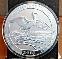 2018 AMERICA THE BEAUTIFUL CUMBERLAND ISLAND GEORGIA 5oz ( last one this price)!