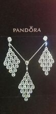 Authentic!! Cascading Glamour necklace and earring set.