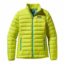 Patagonia Women's MEDIUM Jacket 800 Fill Down Sweater Chartreuse NEW