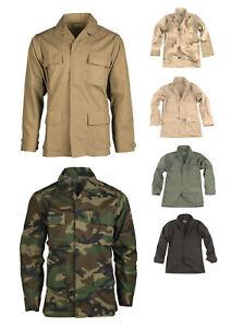 US Tropen Feldjacke BDU Ripstopgewebe TEESAR Feldbluse Bundeswehr Einsatzhemd