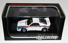 HPI Racing 8032 1/43 Lancia 037 Rally Rallye Plain Color White RARE