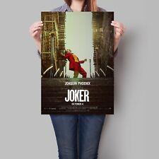 Joaquin Phoenix Joker Poster 2019 Movie Art A2 A3