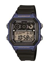 Casio Men's AE1300WH-2AV Illuminator Digital Watch with Black Resin Band