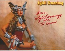 Sybil Danning Signed 8x10 Photo - 1970's / 1980's B Movie Actress - STUNNING!!!