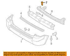 HYUNDAI OEM Rear Bumper-Impact Bar Beam Rebar Reinforcement Bracket 866332E000