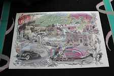 2'x3' Poster A DEVIL WITH A HAMMER Car Art Hot Rod Ford Model Robert Williams