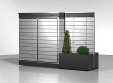 Sichtschutz Terrasse mit Stauraum Sichtschutzwand Garten Modern Metall Design