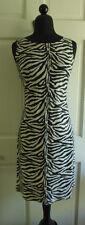 Vintage 80's- 90's Hip Hop Animal Print Mini Dress Sequin 3-4 by Be Smart