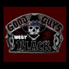 gothique HEAVY METAL HARDROCK gothique noir boucle de ceinture 446