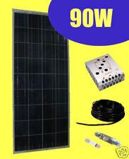 Kit Fotovoltaico: Pannello 90W  + Regolatore di carica