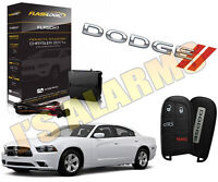 2011-2018 Dodge Charger Plug & Play Remote Start System Push To Start Mopar CH10