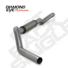 "06-07 Diamond Eye GMC/Chevy 5"" Cat Converter Back Single Exhaust No Muff T409 SS"