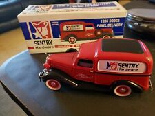 Sentry Hardware 1936 Dodge Panel Delivery Die Cast Locking Coin Bank w/Box 1/25