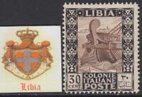 Italy Libia - Sassone n. 27  MNH** cv 270$
