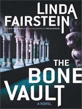 The Bone Vault (Fairstein, Linda (Large Print))-ExLibrary