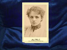 MAUDE ADAMS Acclaimed Actress Cabinet Card Photograph Vintage RP Autograph