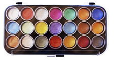 Yasutomo 21 Color Pearlescent Watercolor Paint Set