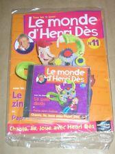 RARE CD + MAGAZINE / LE MONDE D'HENRI DES N° 11 / LE PETIT ZINZIN / NEUF CELLO