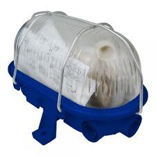 Ovalo Lámpara de Bodega Luz Sótano Llave de Vaso Máx. 60W E27 Azul 421174