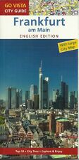 FRANKFURT / M City Guide with large City Map 2016/17 96 pages english edition