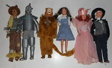 "Vintage Toy Time Wizard of Oz 12"" Dolls Lion,Tin Man,Scarecrow,Dorothy,lot of 6"