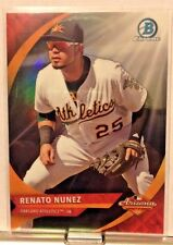 2016 BOWMAN CHROME ARIZONA FALL LEAGUE SUB SET RENATO NUNEZ ATHLETICS        WM5