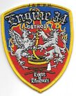 """Detroit Engine - 34  """"Lords"""", Michigan (3.25"""" x 4.25"""" size)  fire patch"""