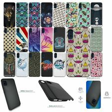 Case For [Samsung Galaxy A01 (2020)][EMBOSSED DUO SET15] Hybrid Dual Layer