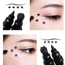 2 In 1 Winged Eyeliner Pen Liquid Seal Eye Liner Pencil Waterproof Makeup Supply