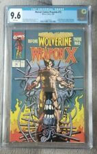 Marvel Comics Presents 72 CGC 9.6 1st Weapon X White Pages