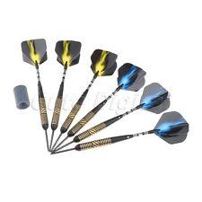 Pro Competition 23 Grams Steel Tip Brass Darts Set With Dart Flights & Case Set