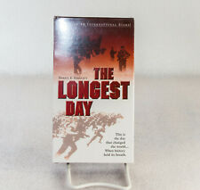 The Longest Day VHS New! Never Played! Sealed!