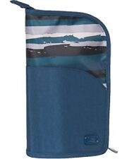 New Lug Travel CANOE Make-up Brush Holder Case PAINTED BLUE  Organizer gift