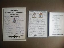 More details for three bookplates signed 49 bomber command veterans