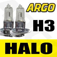 H3 halogène Ampoules 55 W Avant Faisceau Principal Clear Light Piaggio-Vespa Hexagon 125 LX