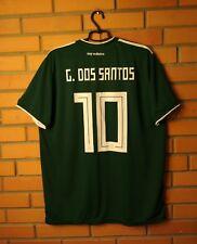 Mexico Giovani dos Santos Jersey 2018 Home XL Shirt Adidas Football Soccer