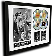 BOB MARLEY SIGNED LIMITED EDITION FRAMED MEMORABILIA