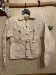 Mister Freedom Cowboy Jacket - Wheat Denim - 38 - BNWT