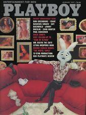 PLAYBOY JANUARY 1977 Susan Kiger Alex Haley Barbie Benton Erica Jong Paper MLR