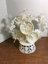 VINTAGE WEDDING CAKE TOPPER WITH BELLS 1960s
