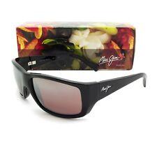 NEW Maui Jim WASSUP Gloss Black & Maui Rose Polarized R123-02