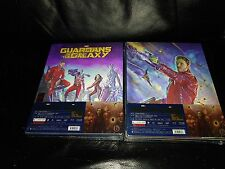 Guardians of the Galaxy 3D+2D BLU-RAY Blufans #25 ULTIMO EDIZIONE STEELBOOK