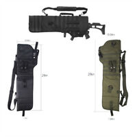 Outdoor Tactical Rifle Scabbard Gun Case Military Shoulder Carry Bag for Hunting
