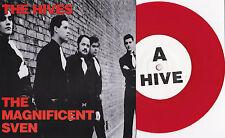 """Hives-The Magnificent Sven 7"""" RED VINYL LIVE UK Radio 2001 Sweden garage punk"""
