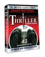 Brian Clemens Thriller Complete 43 Murder Mystery TV Series Movies 8 DVD SET