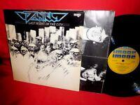 DANIEL Last night in the city LP 1978 AUSTRALIA EX First Pressing Inner