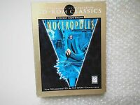 PC NOCTROPOLIS GOLD EDITION EA 1996 17+ (Win 95 - CD-Rom)  BIG BOX RARE